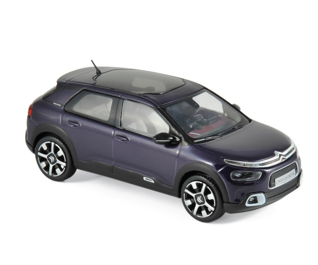 Citroën C4 Cactus 2018 Deep Purple & White deco