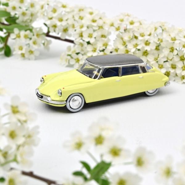 Citroën DS 19 1958 Jonquille Yellow