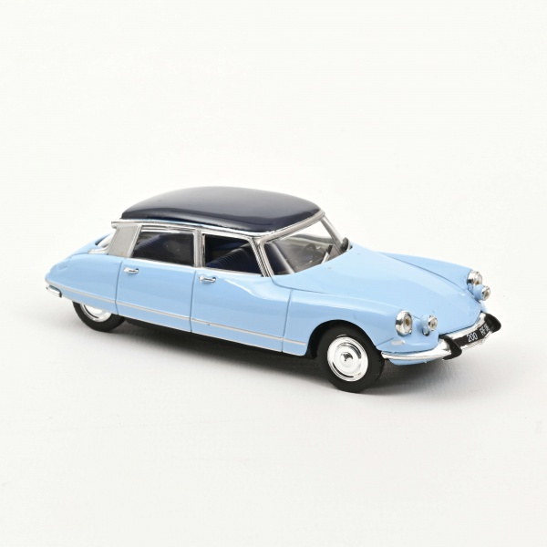 Citroën DS 21 Pallas 1967 Monte Carlo Blue Orient Blue roof