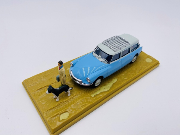 Citroën DS ID BREAK Avec Figurines