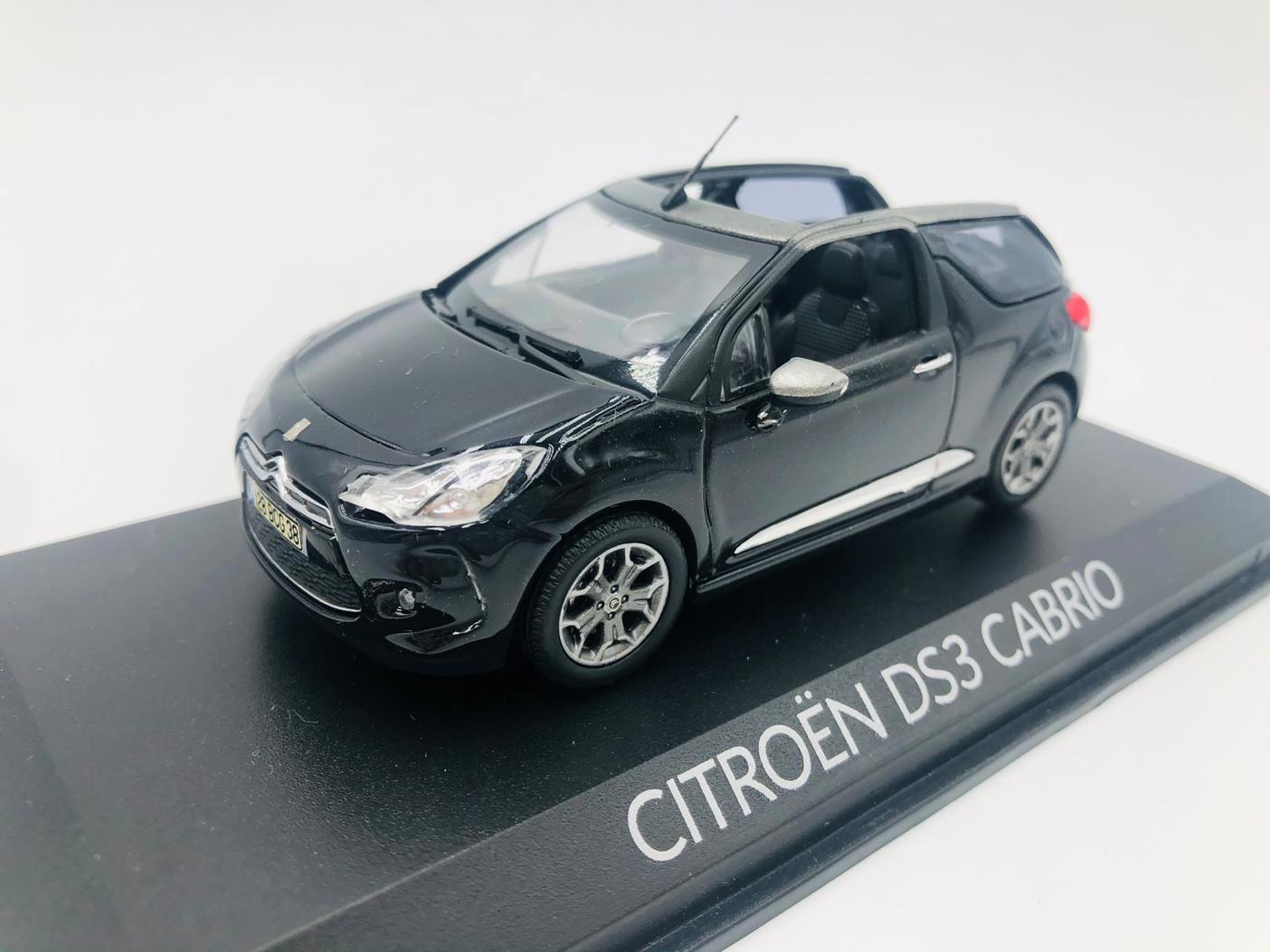 Citroën DS3 Cabrio Noire