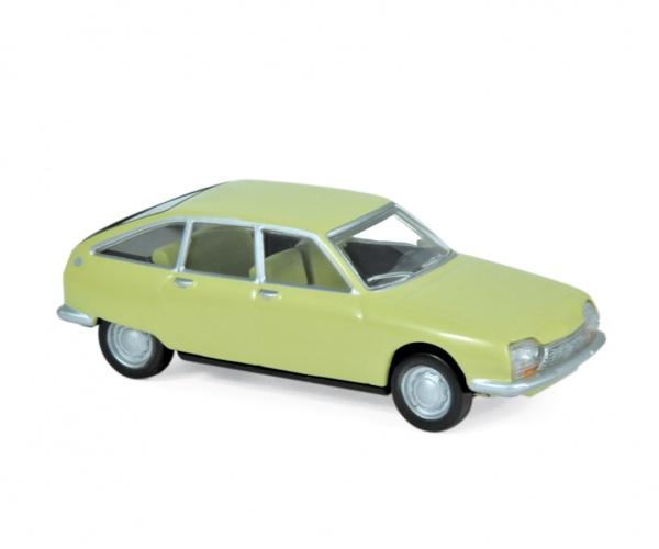 Citroën GS 1970 Primevere Yellow