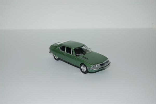 Citroën SM 1970 Green metallic