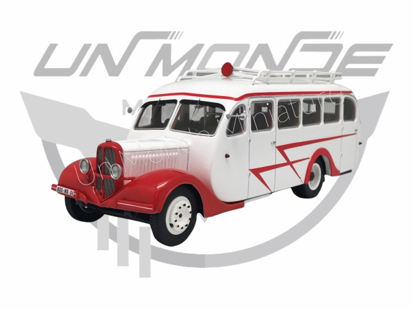 Citroën T45 U Besset 1939 Blanc & Rouge