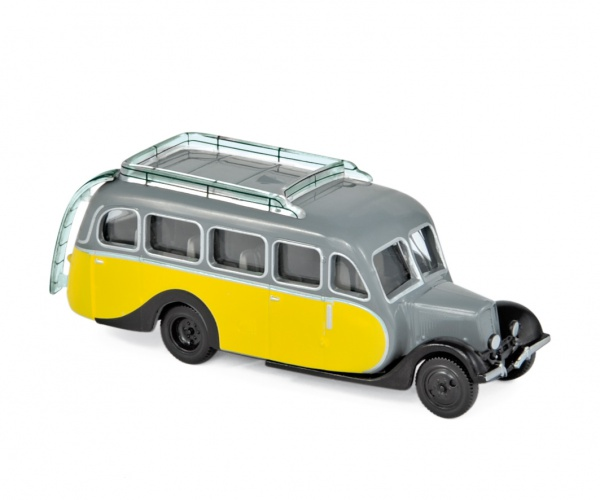 Citroën U23 Autocar 1947 Yellow & Grey
