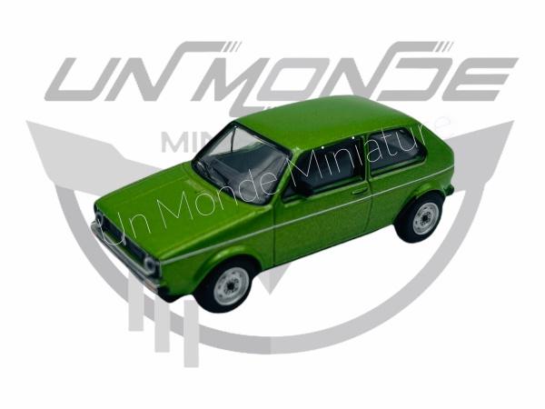 Cvolkswagen Golf Green