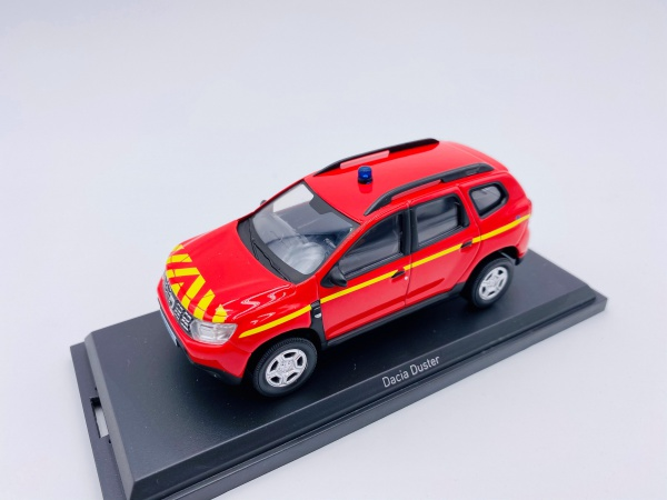 Dacia Duster 2018 POMPIERS