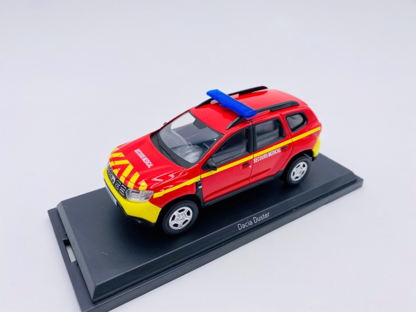 Dacia Duster 2018 POMPIERS SECOURS MEDICAL