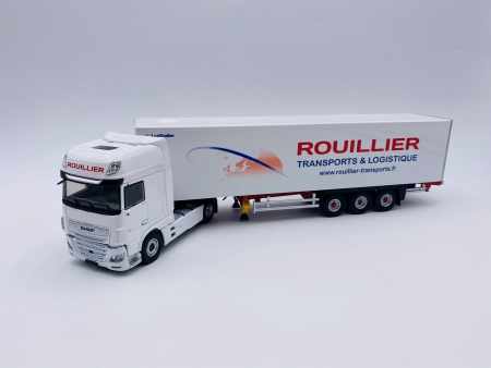 DAF XF MY 2017 Superspace Cab Fourgon ROUILLIER Transports