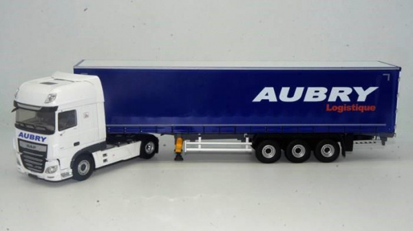 Daf XF My 2017 Superspace Cab Tautliner Transport Aubry