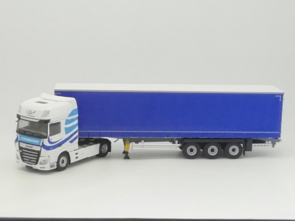 Daf XF MY 2017 Superspace Cab TAUTLINER TRANSPORTS COMBRONDE