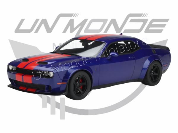 Dodge Challenger Super Stock 2021 Indigo Blue