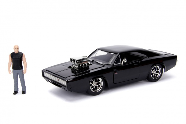 Dodge Charger Street W/Dom Toretto\'s Black 1970
