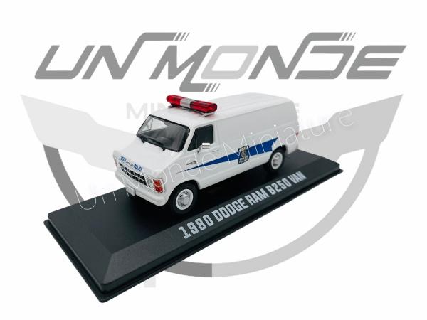 Dodge RAM B250 Van Indiana State Police 1980