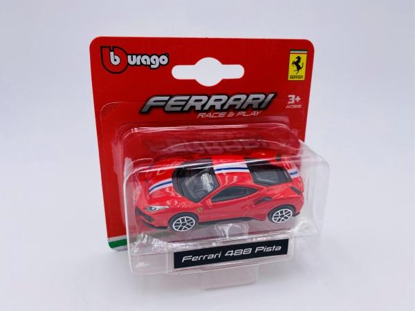 Ferrari 488 Pista Red