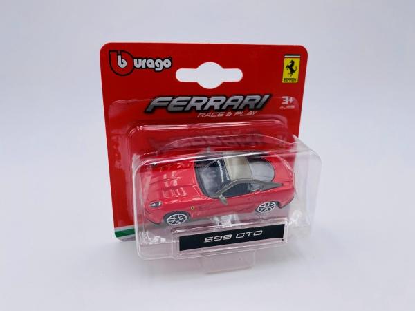 Ferrari 599 GTO Red