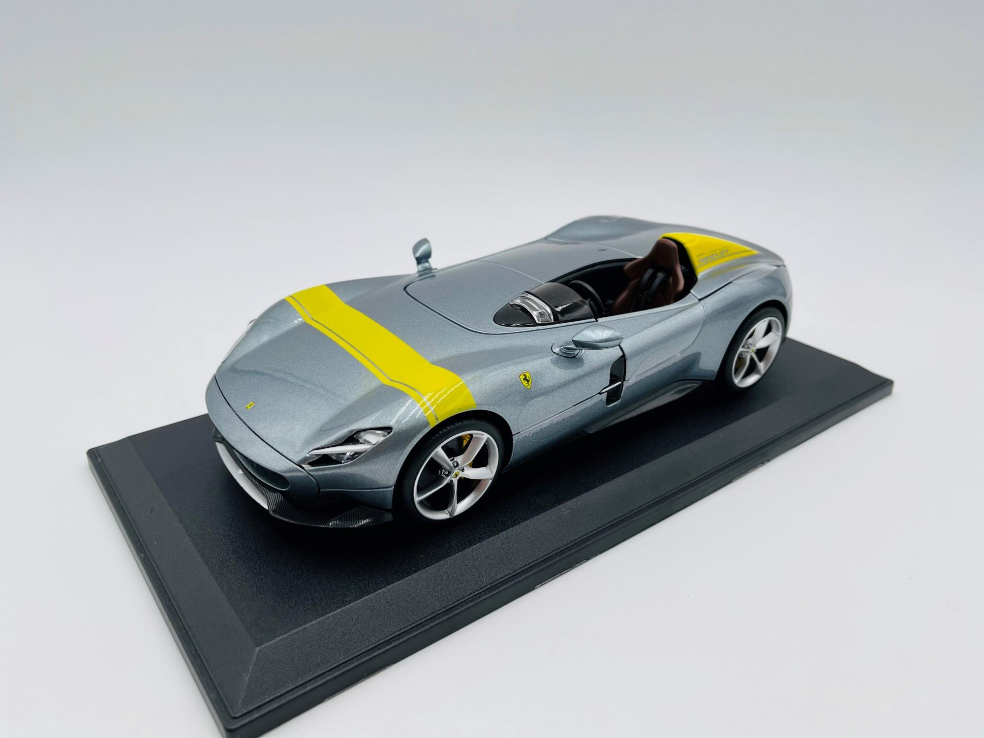 Ferrari Monza SP-1 Grey & Yellow