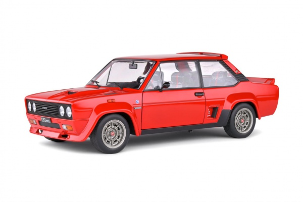 Fiat 131 ABARTH Rouge 1980