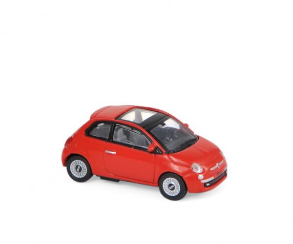 Fiat 500 2007 Red