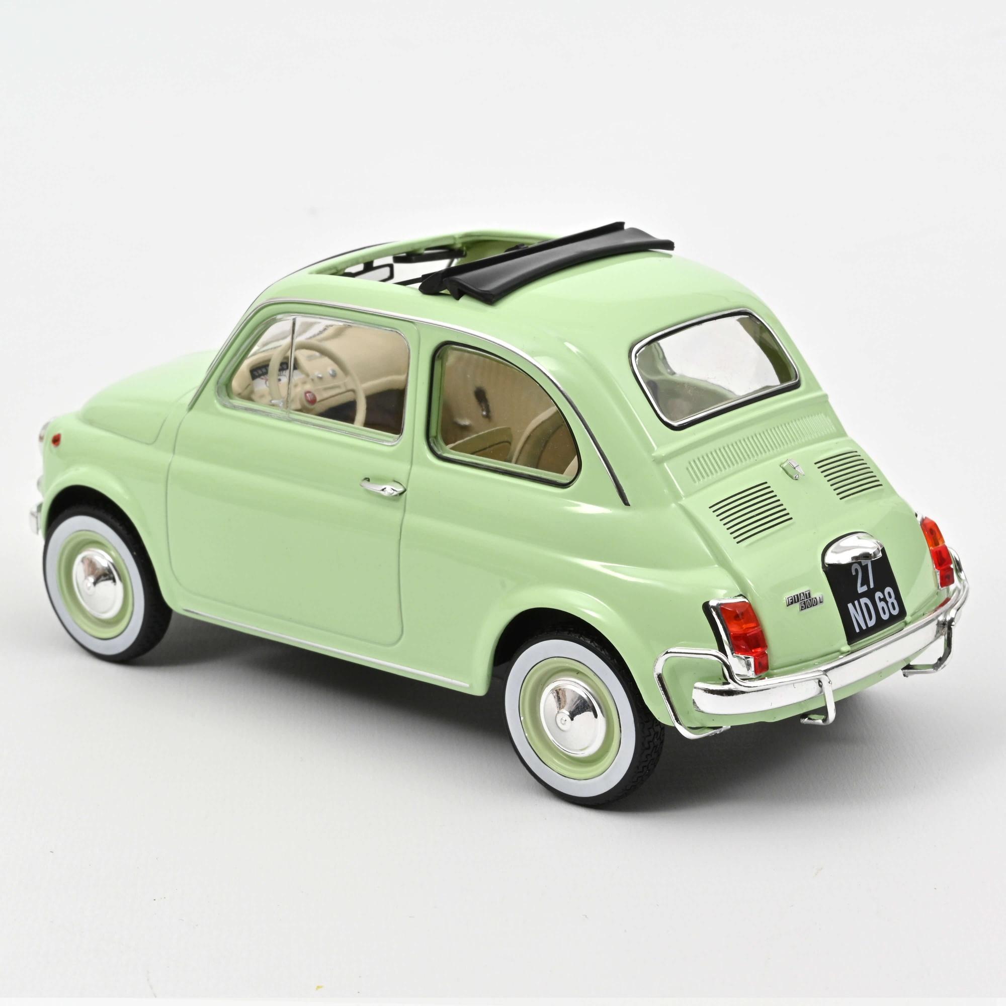 Fiat 500 L 1968 -Light green