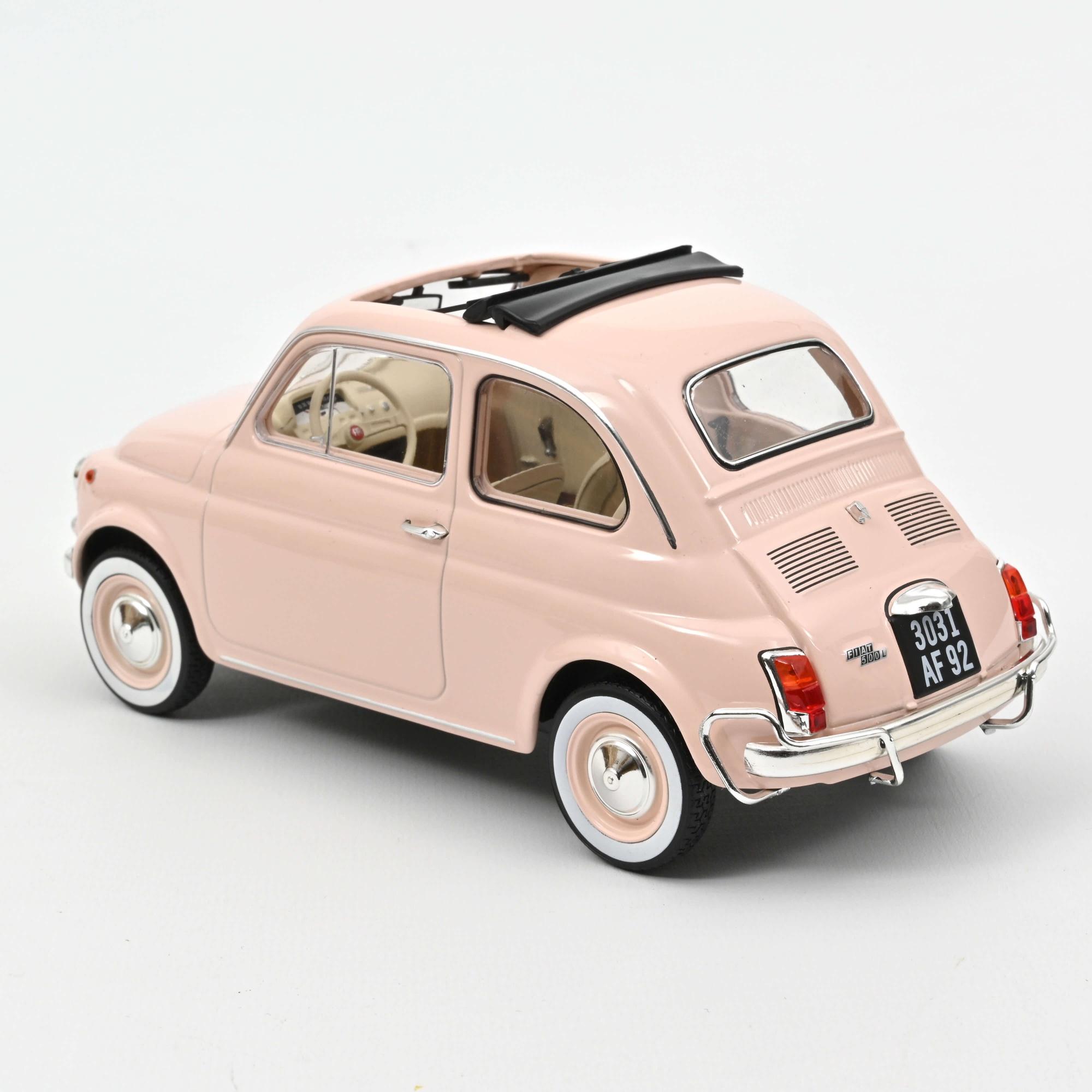 Fiat 500 L 1968 Pink