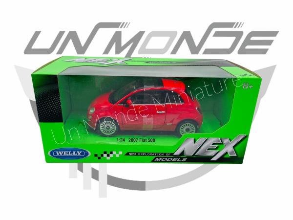 Fiat 500 Rouge Sans Vitrine