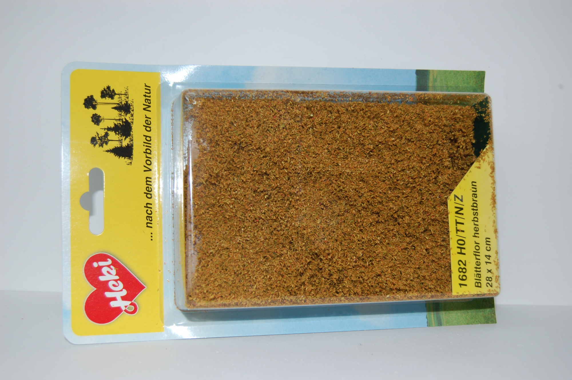 Fillet à floquer brun automne 28 x 14 cm