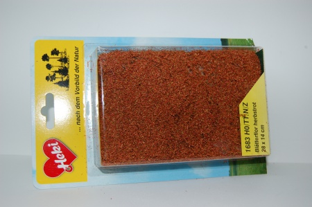 Fillet à floquer rouge automne 28 x 14 cm