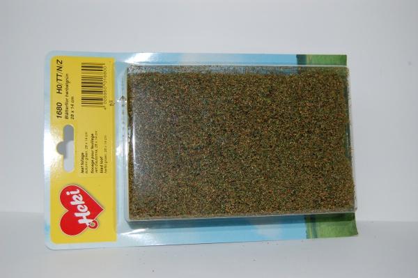 Fillet à floquer vert automne 28 x 14 cm