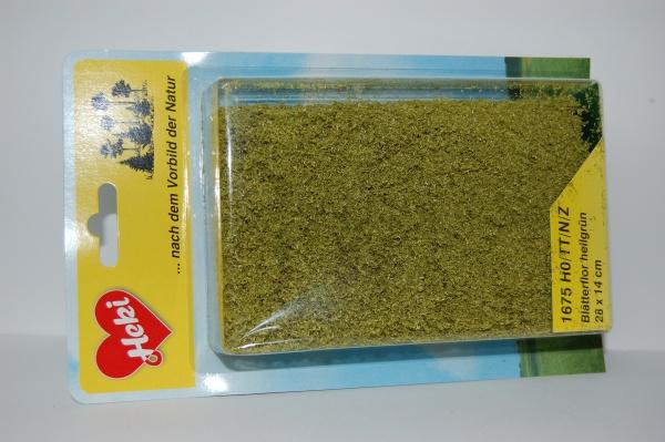 Fillet à floquer vert clair 28 x 14 cm