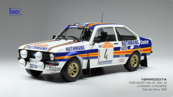 Ford Escort Mk II RS1800 #4 Vatanen - Richards Rallye San Remo 1980