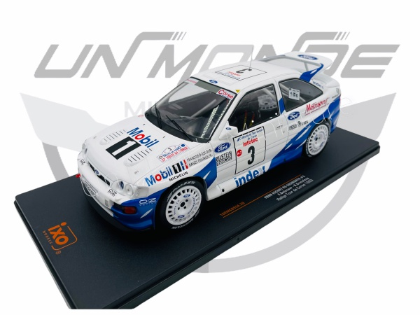 Ford Escort RS Cosworth #3 F. Delecour/D. Grateloup