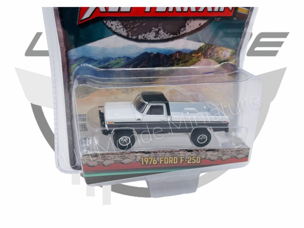 Ford F-250 1976 Black & Siver