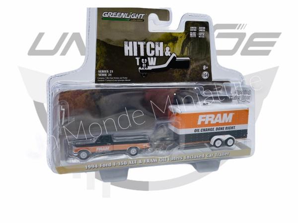 Ford F150 XLT & FRAM Oil Filter Enclosed Car