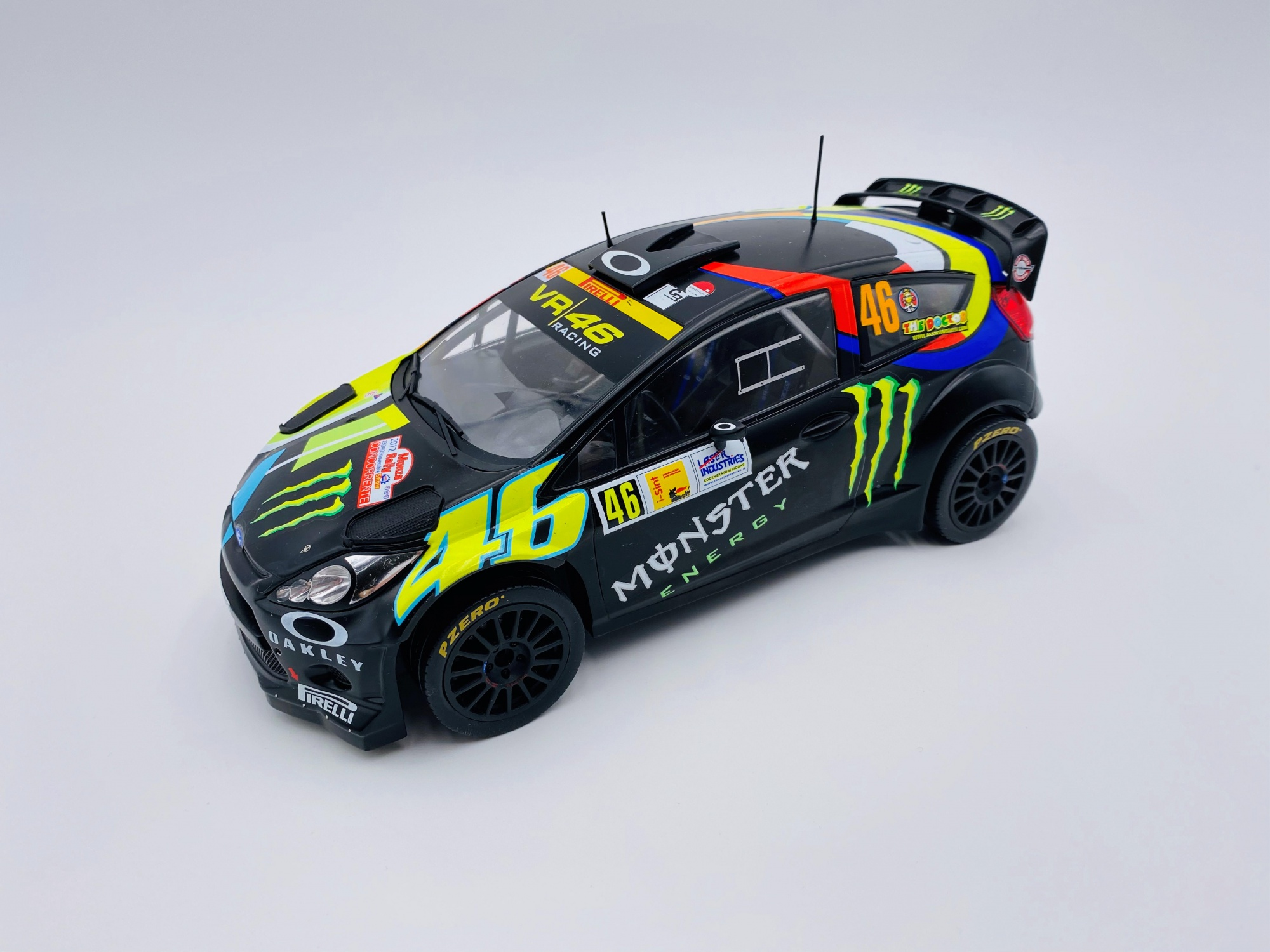 Ford Fiesta RS WRC #46 MONZA RALLY 2012 ROSSI / CASSINA