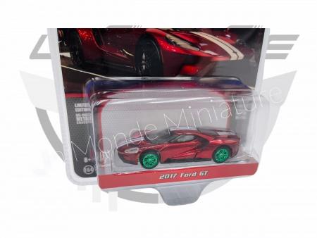Ford GT 2017 Red Métallic Jantes Vertes