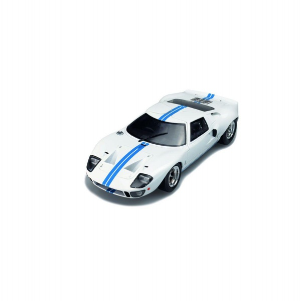 Ford GT 40 MK1 WIDEBODY White & Blue