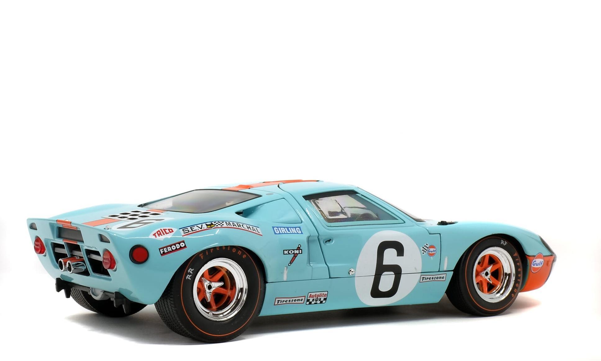 Ford GT40 MK1 #6 Ickx/Oliver 24TH Du Mans 1969 1er