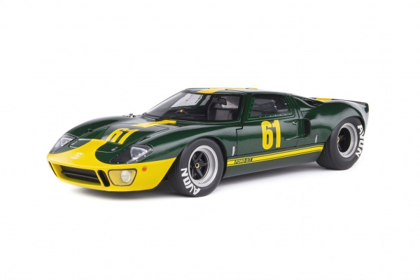 Ford GT40 MK1 Green Racing Custom 1968