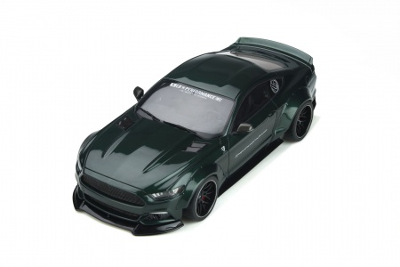 Ford Mustang By LB Works Dark Highland Green