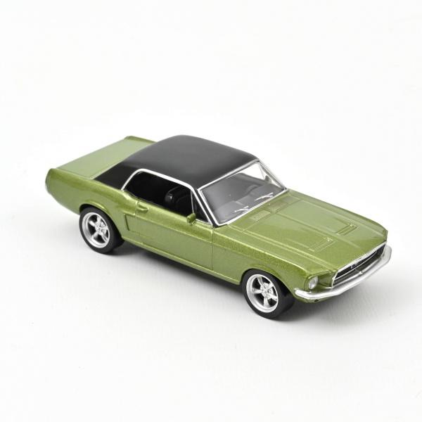 Ford Mustang Green Métallic Jet Car