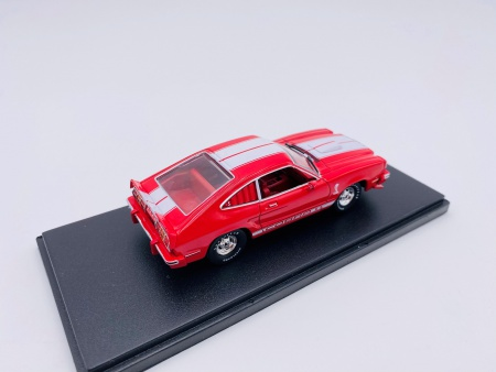 Ford Mustang II Cobra II 1978 Rouge Bandes Blanches
