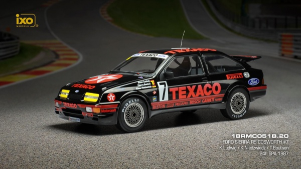 Ford Sierra RS COSWORTH #7 24H SPA 1987