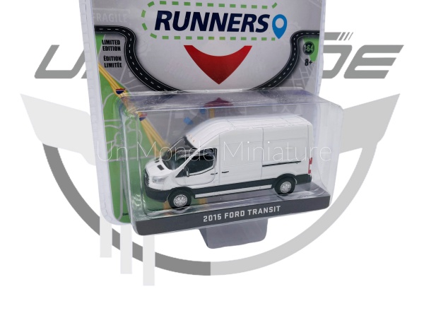 Ford Transit 2015 White Route Runners