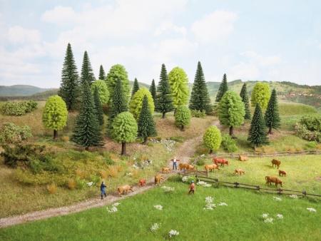 Forêt mixte 25 arbres