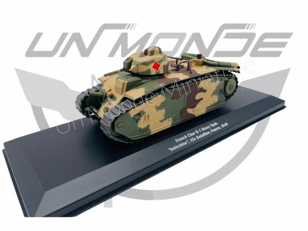 French Char B-1 Heavy Tank Indochine