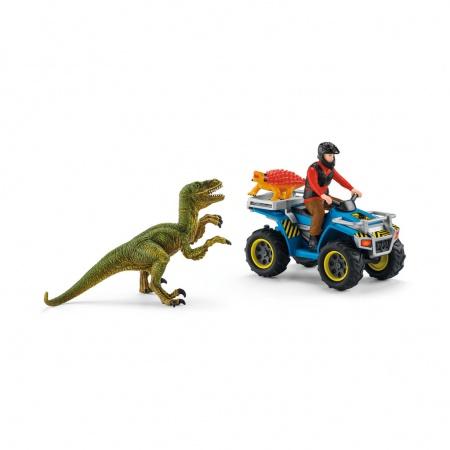 Fuite sur Quad face au Vélociraptor