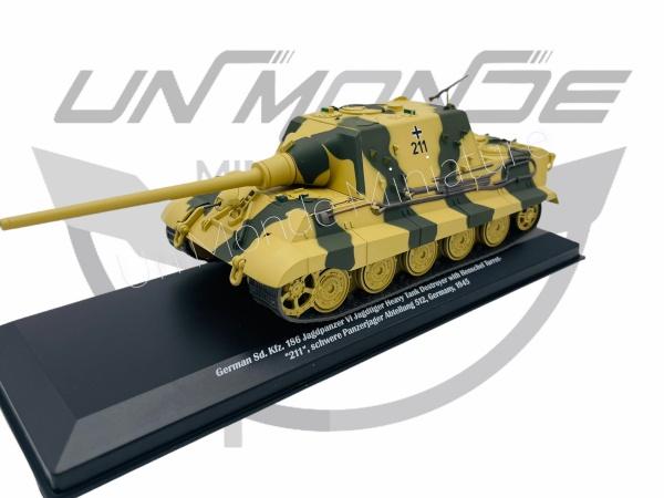 German Sd Kfe 186 Jagdpanzer VI Jagdtiger Heavy Tank