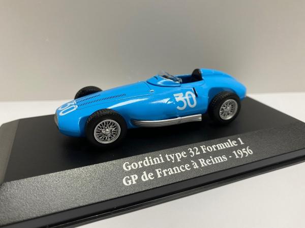 Gordini Type 32 Formule 1 Grand Prix de France à Reims 1956