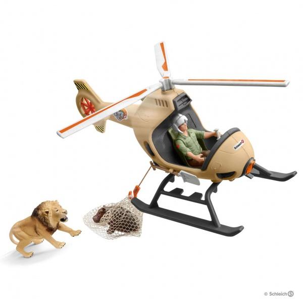 Hélicoptère pour sauvetage d\'animaux